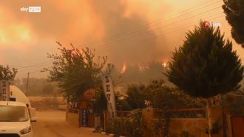 roghi turchia, 8 morti e turisti evacuati