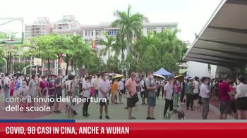 Covid, 98 casi in Cina, anche a Wuhan