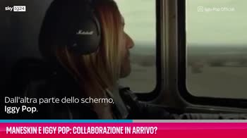 VIDEO Maneskin e Iggy Pop: collaborazione in arrivo?