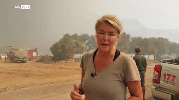 ERROR! Incendi Turchia, fiamme avanzano, villaggi evacuati