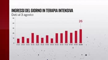 Covid, i numeri della pandemia del 3 agosto - Bollettino