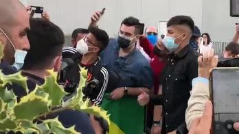 Juventus, Kaio Jorge al J|Medical: l'accoglienza dei tifosi