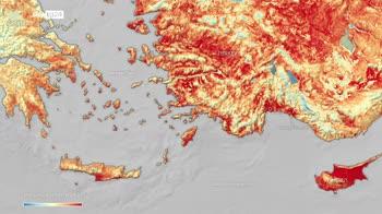 Atene minacciata da roghi, autorit� restate a casa