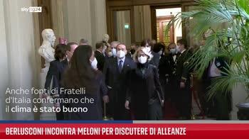 Berlusconi incontra Meloni per discutere di alleanze