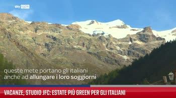 Vacanze, studio Jfc: estate pi� green per gli italiani