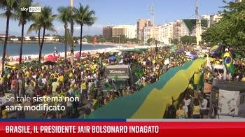 Brasile, il presidente Jair Bolsonaro indagato