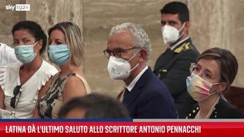 I funerali dello scrittore Antonio Pennacchi