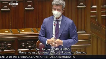 ERROR! Orlando: su green pass lavoro dialogo con parti sociali