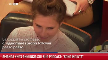 Amanda Knox annuncia sul suo podcast: ?Sono incinta?
