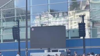 Tutto pronto per la conferenza di Messi al PSG