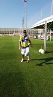 Quartararo veste Juve: che numero col pallone!