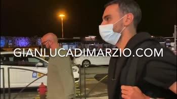 Atalanta, le immagini dell'arrivo di Zappacosta a Bergamo