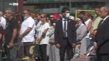 Sisma 2016, ad Amatrice messa in memoria 299 vittime