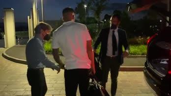 Inter, l'arrivo di Correa in hotel a Milano