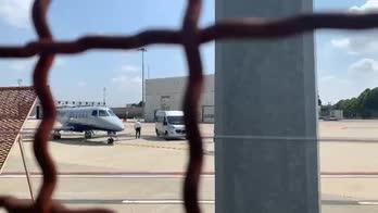 cristiano ronaldo lascia torino aereo
