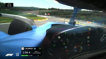 f1 canale 207 ore 12.10 onboard lonso