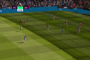 Manchester City, l'assist di Grealish per Gabriel Jesus
