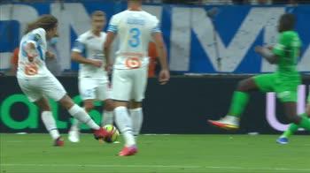 Olympique Marsiglia-Saint Etienne 3-1, gol e highlights