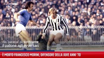 � morto Francesco Morini, difensore della Juve anni ?70