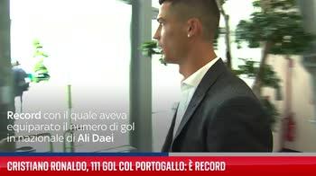 Cristiano Ronaldo, 111 gol col Portogallo: � record