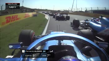 f1 canale 207 ore 15.10 replay partenza alonso