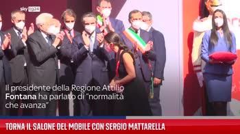 Torna il Salone del Mobile con Sergio Mattarella