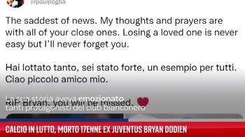 ERROR! Calcio in lutto, morto 17enne ex Juventus Bryan Dodien