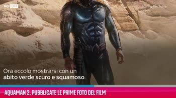 VIDEO Aquaman 2, pubblicate le prime foto del film