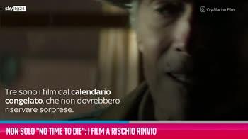 """VIDEO Non solo """"No time to die"""": i film a rischio rinvio"""