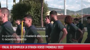 Italia, si complica la strada verso i Mondiali 2022