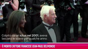 VIDEO È morto l'attore francese Jean-Paul Belmondo