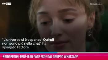 VIDEO Bridgerton, Regé-Jean Page esce dal gruppo Whatsapp