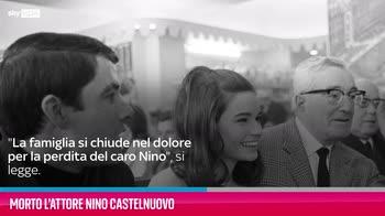 VIDEO Morto l'attore Nino Castelnuovo