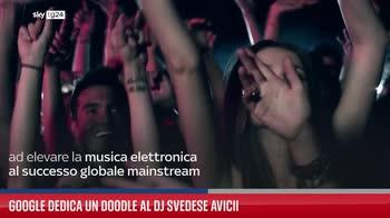 Google dedica un doodle al dj svedese Avicii