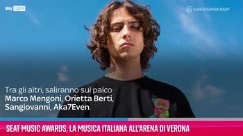 VIDEO Seat Music Awards, musica italiana all'Arena di Verona