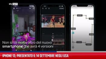 IPhone 13, presentato il 14 settembre negli Usa