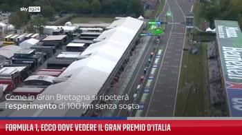 Formula 1, ecco dove vedere il Gran premio d?Italia