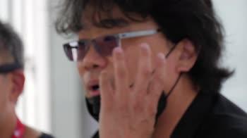 Venezia 78, Morandi incontra incontra il regista Bong Joon
