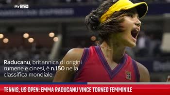 Tennis, Us Open: Emma Raducanu vince torneo femminile