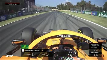 f1 canale 207 ore 15.07 replay partenza