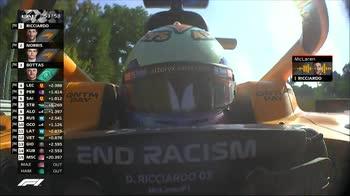 F1 CANALE 207 TEAM RADIO RICCIARDO ORE 16.26