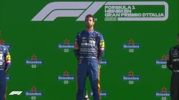 f1 podio monza canale 207 ore 16.41