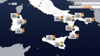 Meteo, ritorna l?anticiclone africano: caldo anomalo al sud