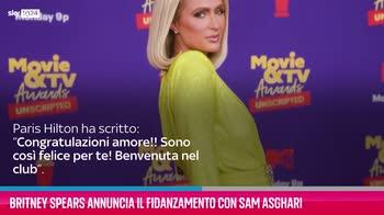 VIDEO Britney Spears annuncia fidanzamento con Sam Asghari