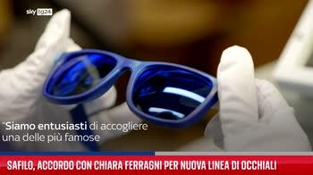 Safilo, accordo con Chiara Ferragni per nuova linea di occhiali
