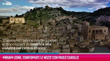 VIDEO Miriam Leone, confermate le nozze con Paolo Carullo