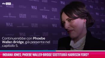 VIDEO Indiana Jones, Waller-Bridge sostituirà Harrison Ford