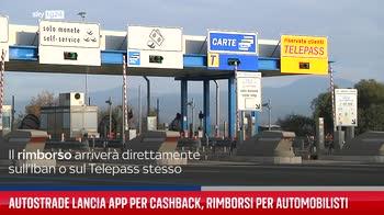 Autostrade lancia app per Cashback, rimborsi per automobilisti
