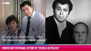 """VIDEO Morto Art Metrano, attore di """"Scuola di Polizia"""""""