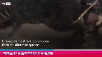 VIDEO Eternals, nuove foto del film Marvel